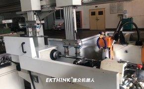 数控外圆磨床桁架式机械手智能解决方案