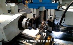 重型桁架机械手,外圆磨床磨输入轴