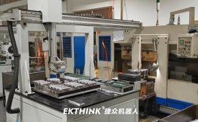 桁架自动机械手,搓齿机搓洗衣机轴