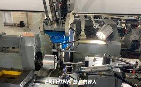 工业桁架机械手,外圆磨床磨电机轴