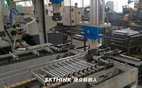 桁架机械手自动线,深井泵电机轴加工